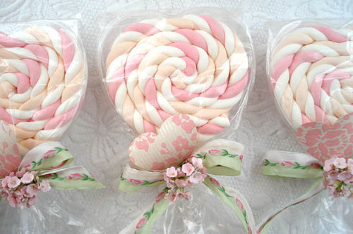 lollipop wedding shower favors