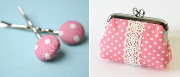 polka dot crafts